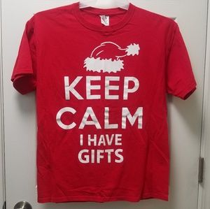 Christmas Keep Calm I Have Gifts T Shirt